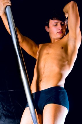 Manlig Strippa Jobb